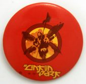 Linkin Park - 'Hybrid Theory Red' Large Button Badge